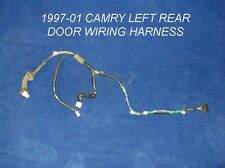 1997 - 2001 TOYOTA CAMRY REAR DOOR WIRING HARNESS / LOOM OEM LEFT OR RIGHT SIDE