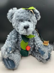 Hermann Teddy Bear Bluebeary 17 11/16in Limited Unrecorded
