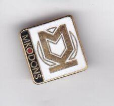MK Dons - lapel badge brooch fitting