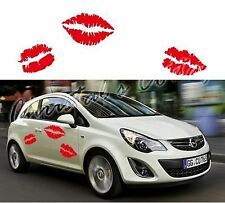 3 Various Kiss Lips Vinyl Car Vehicle Wall Graphic Sticker Decal Large size 25cm