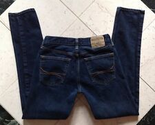HOLLISTER HCO The Hollister Classic Taper Dark Blue Jeans Size W 30 x L 32