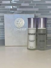 Lionesse White Pearl Cleansing Kit - Milk Cleanser and Skin Toner - 60ml/2.oz