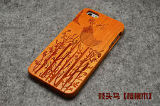 Wooden Bamboo Cover Natural Wood Phone Case For Apple iPhone 8 X 7 6 6s 6 Plus 5