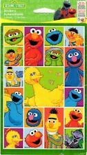 Sesame Street Characters Scrapbook Stickers 2 Sheets -NEW!!