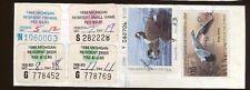 Michigan 1988 Resident Fishing License/ Rw55 + State Stamp -555