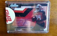 Charles Sims 2014 Topps Strata Clear Cut Auto Relic Card #14/99
