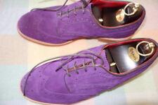 Trickers UK Mens NEW Bourton Violetta Repello Suede Shoe 10.5 UK Last 4444. Dain