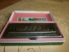 ALTE MUNDHARMONICA THE ECHO HARP M. HOHNER IN OVP