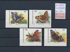 LN94949 Belgium 1993 imperf butterflies insects fine lot MNH cv 65 EUR