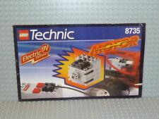 LEGO® Technic Bauanleitung 8735 9V Motor ungelocht instruction B328