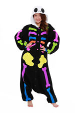 Coloful Skeleton Kigurumi - Adult Costume from USA