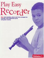 Play Easy Recorder, Vol. 1,Emma Coulthard