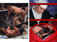 "RORY MacDONALD signed Autographed ""UFC"" 8X10 PHOTO e EXACT PROOF - Bellator COA"