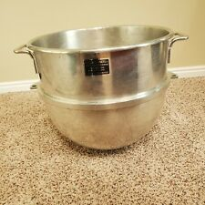 Genuine Hobart Vmlh 60 Qt Stainless Steel Mixing Bowl Recently Re Tinned