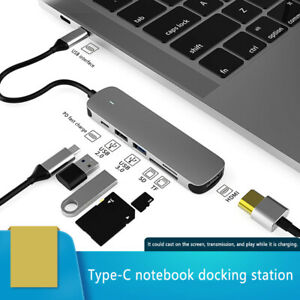 USB Type C Docking Station USB3.0 Plus HDMI Compatible For Laptop Samsung S10