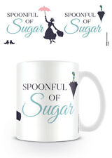 DISNEY MARY POPPINS A SPOONFUL OF SUGAR MUG NEW GIFT BOXED OFFICIAL LICENSED