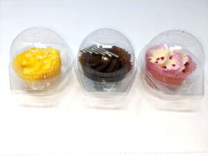 Plastic Cupcake Boxes Muffin Holder Cases Domes Cups Pods *UK Seller* 10~5000X