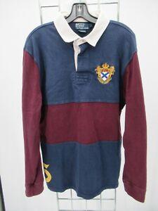 C0188 VTG Men's Polo Ralph Lauren Long Sleeve Polo Shirt Size XL