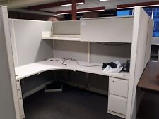 Large Lot 20 Steelcase Enhanced 9000 Cubicles Grey 6x7 Files Work Stations