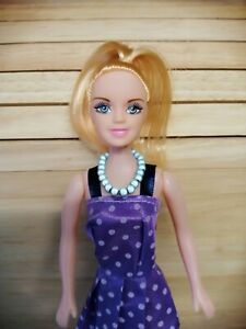 """DOLLS JEWELLERY BEAD NECKLACE FOR 12"""" DOLL HANDMADE FOR BARBIE FASHIONISTA"""