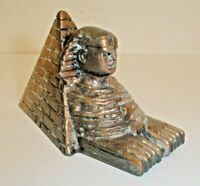 Vintage King Tut Pyramid Figural Die-Cast Metal Pencil Sharpener