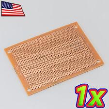 [1x] 5 x 7cm DIY PCB Prototype Circuit Solder Bus BREADBOARD Discrete DIP