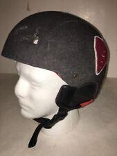 RED Snowboard Helmet Trace Women's Large Sz 59-61 Large ski ear pad