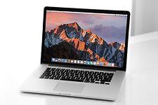 "15"" RETINA Apple MacBook Pro i7 2.8 - 4.0GHz 1TB SSD 16GB RAM DUAL GFX+AppleCare"