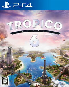 Tropico 6 Sony Playstation 4 PS4 Video Games From Japan Tracking NEW