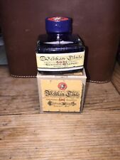 Vintage Pelikan Tinte 4001 Gunther Wagner 50ml Brilliant BLUE  Fountain Pen Ink
