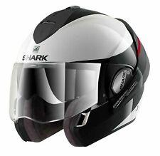 Shark Evoline Series 3 Hakka Helmet White / Red X-Large 61-62 cm RRP $569.95