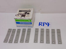 EDWARDS SIGNALING 66-G GRY INSULATING SPACER FOR MAGNETIC SWITCH LOT OF 10