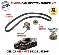 FOR TOYOTA CELICA 2.0i GT4 GTi 1994->NEW TIMING SET CAM BELT TENSIONER IDLER KIT