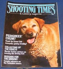 SHOOTING TIMES MAGAZINE SEPTEMBER 7-13 1989 - COLLECTING UP THE COVEYS