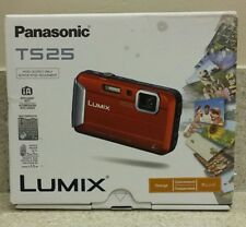 Panasonic DMC-TS25 - DMC-TS25P-D - 16.1MP Waterproof Digital Camera Orange