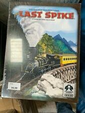 The Last Spike board game Columbia Games Train game like Ticket to Ride