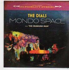 (FG9) The Dials, Mondo Space / The Crawling Man - 2014 DJ CD