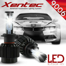 XENTEC LED HID Headlight kit 388W 38800LM 9006 6000K for 1994-1995 BMW 530i