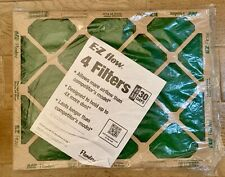 """New Flanders E-Z Flow 16""""x20""""x1"""" Air Filters (4 Pack) - New In Package"""