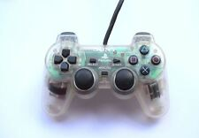 Official Genuine Original Sony Dual Shock 1 PS1 Controller Game Pad Crystal