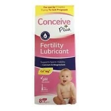 Sasmar Conceive Plus Fertility Lubricant Pre Filled Applicators 8x4g New