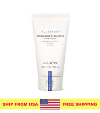 [Innisfree] Blueberry Rebalancing 5.5 Cleanser 100ml - Ship From Usa