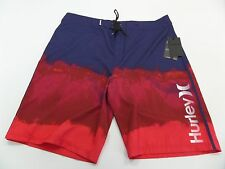 New Hurley Relief Board Shorts Mens Size 38 Ombre Tonal