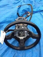 AUDI A3 A4 LEATHER STEERING WHEEL BLACK WITH KEY STALK OEM B6 Column Steering