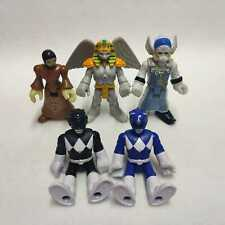 lot of 5pcs Fisher Price Imaginext Power Rangers King Sphinx Rita Finster New