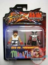 Street Fighter X Tekken Series 2 Minimates Ryu vs Yoshimitsu by Diamond Select