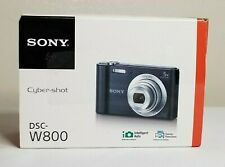 Sony Cyber-shot DSC-W800 20.1MP Compact Camera - Black - NOT WORKING - READ