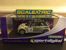 Scalextric Digital Mini Cooper S / X-Nrgdrink No1 C2564D Mint Boxed With Lights