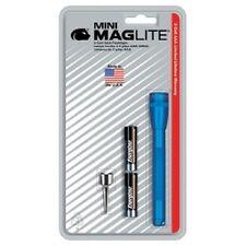 Maglite 116-569 Ultra Mini MagLite Blue Flashlight w/Belt Clip & 2 AAA Batteries