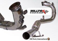 VW Golf MK5 GT 2.0 TDI 170PS MILLTEK Sport Downpipe DPF Exhaust Pipe Fits OEM